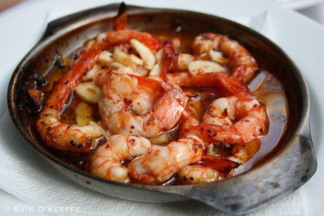 Gambas al Ajillo  Shrimp tapas