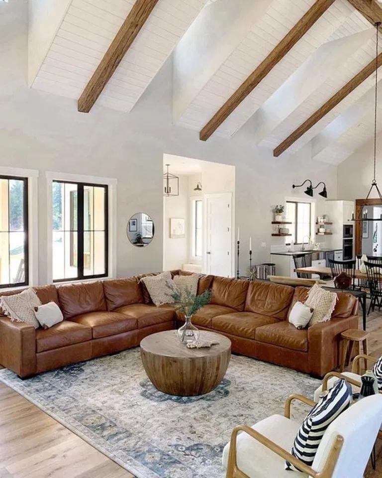 40+ Farmhouse living room ideas 2020 ideas