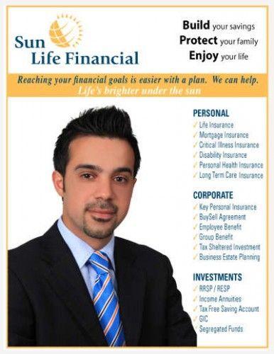 Amir Modonpour Sun Life Financial Long Term Care Insurance