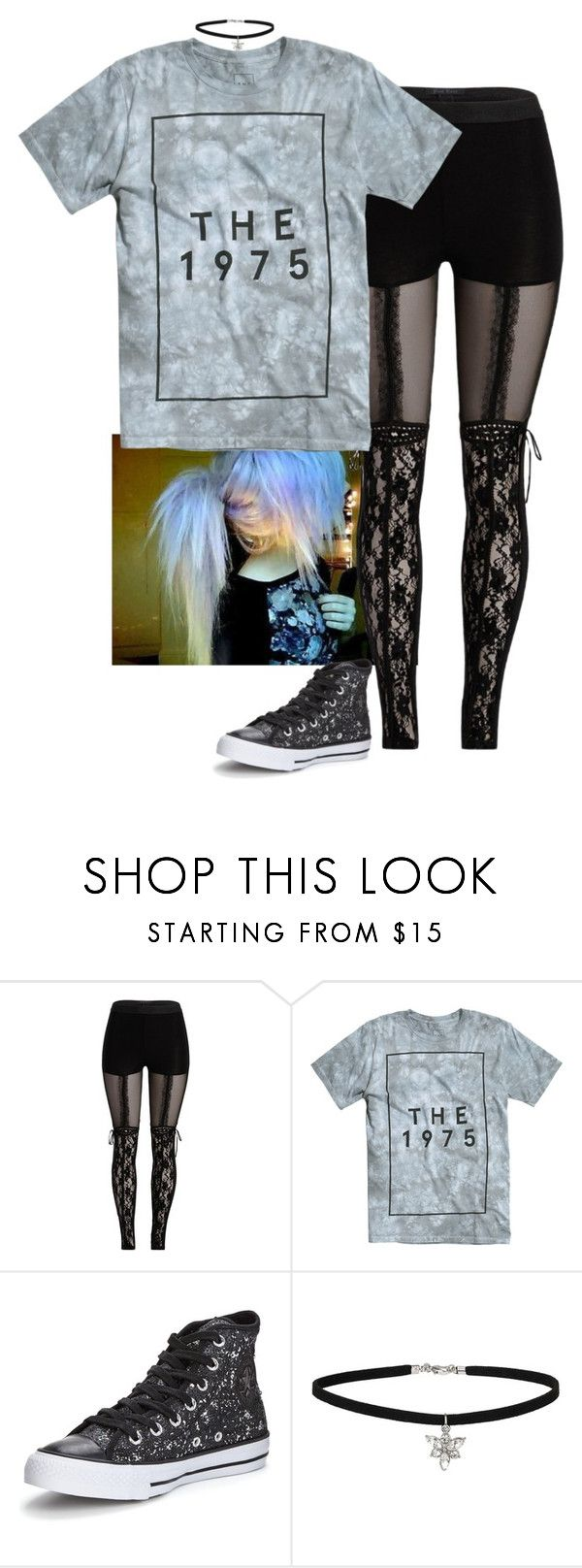 """""""Why must we listen to songs that sound like the Dora theme song in Spanish class?"""" by lifesucks-musichelps ❤ liked on Polyvore featuring Converse and Miss Selfridge"""