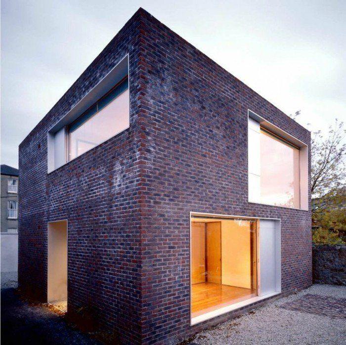 Attractive Moderne Fassaden Hier Ist Ein Schönes Haus Mit Einer Originellen Fassade