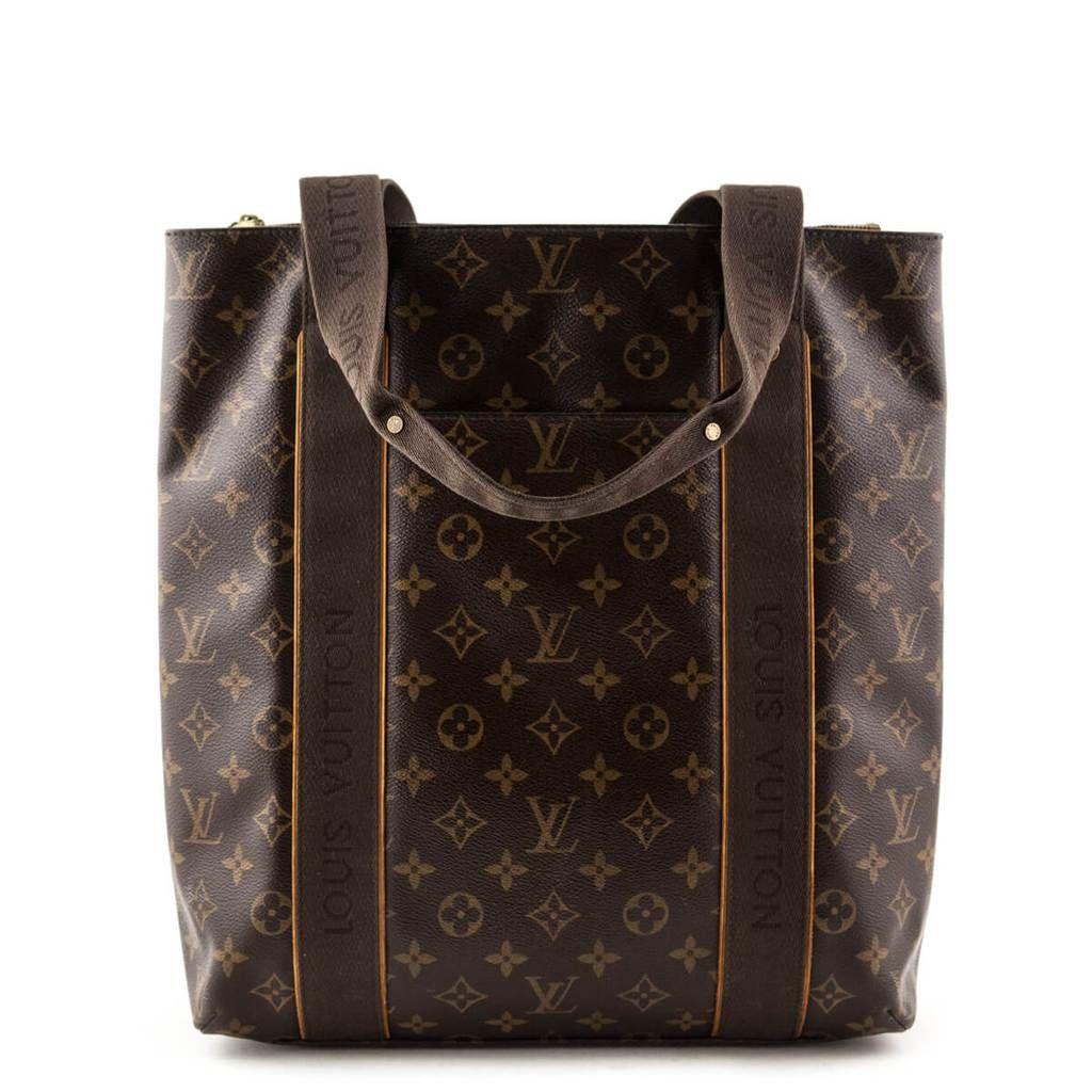 Louis Vuitton Monogram Cabas Beaugourg Tote Designer Bags Canada
