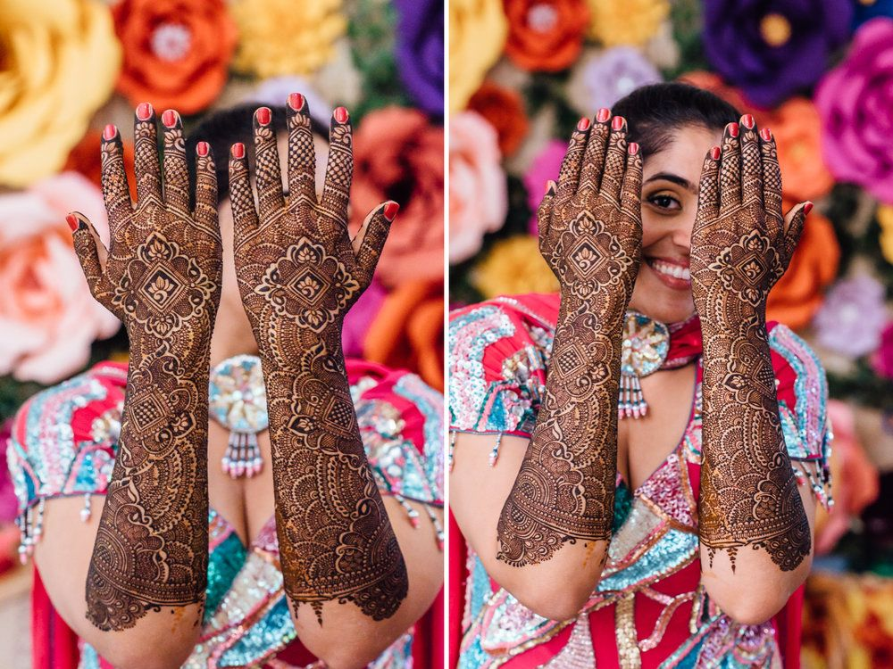 Mehndi Ceremony Description : Lilly harsh a colorful mehndi ceremony