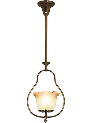 Harp Style Gas Pendant With 4 Er Sherman Lighting