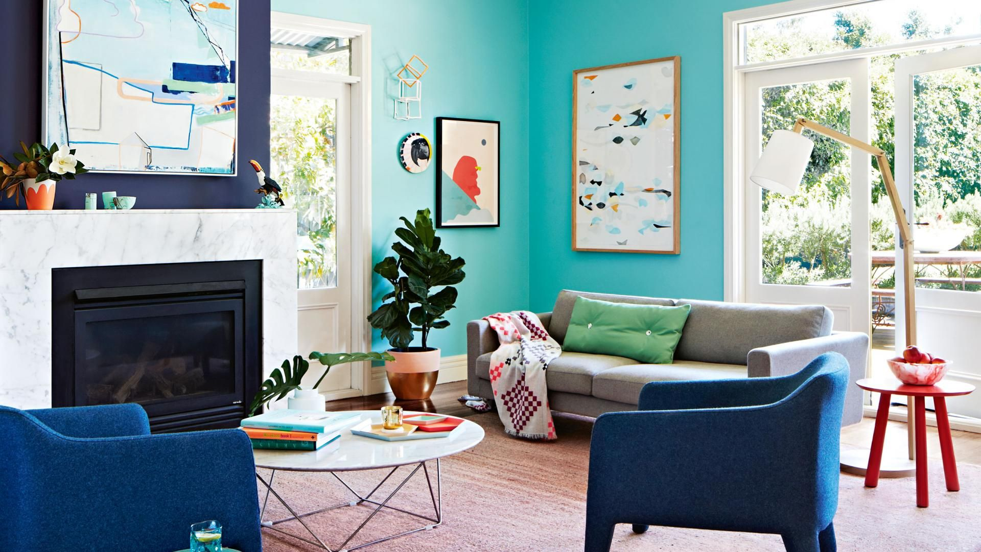 Wonderful Summer Colour: Pretty Palettes To Brighten Your Home. Photography By  Armelle Habib. Styling Awesome Ideas
