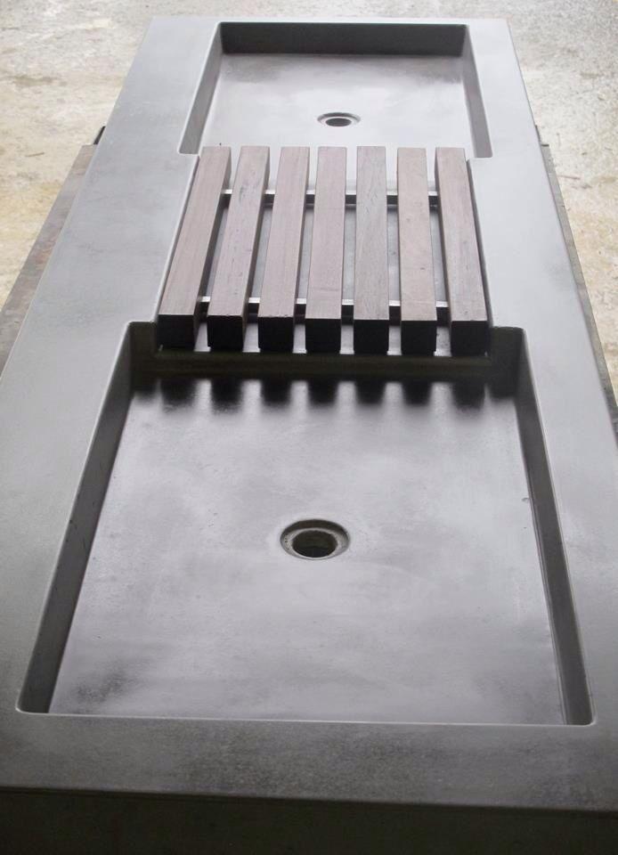 Concrete sink | Concrete product design | Cement | Interior | Inspiration | design | Beton design | Betonlook | www.eurocol.com