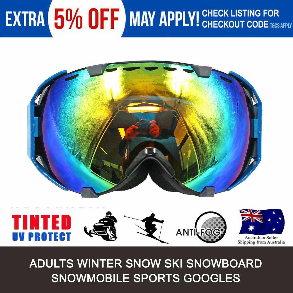 Advertisement Ebay Blue Frame Tinted Lens Motocross Off Road Dirt Atv Quad Gokart Bike Goggles Au Motocross Goggles Snowboard Goggles Ski And Snowboard