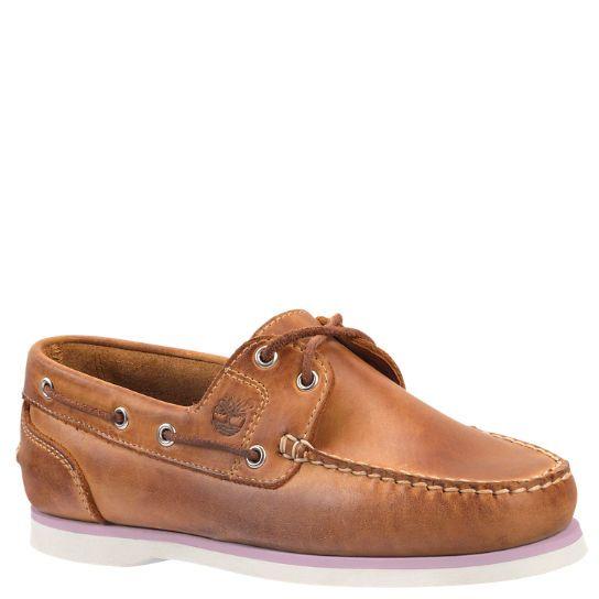 Timberland clásico 2 Eye ocasionales del barco Zapatos