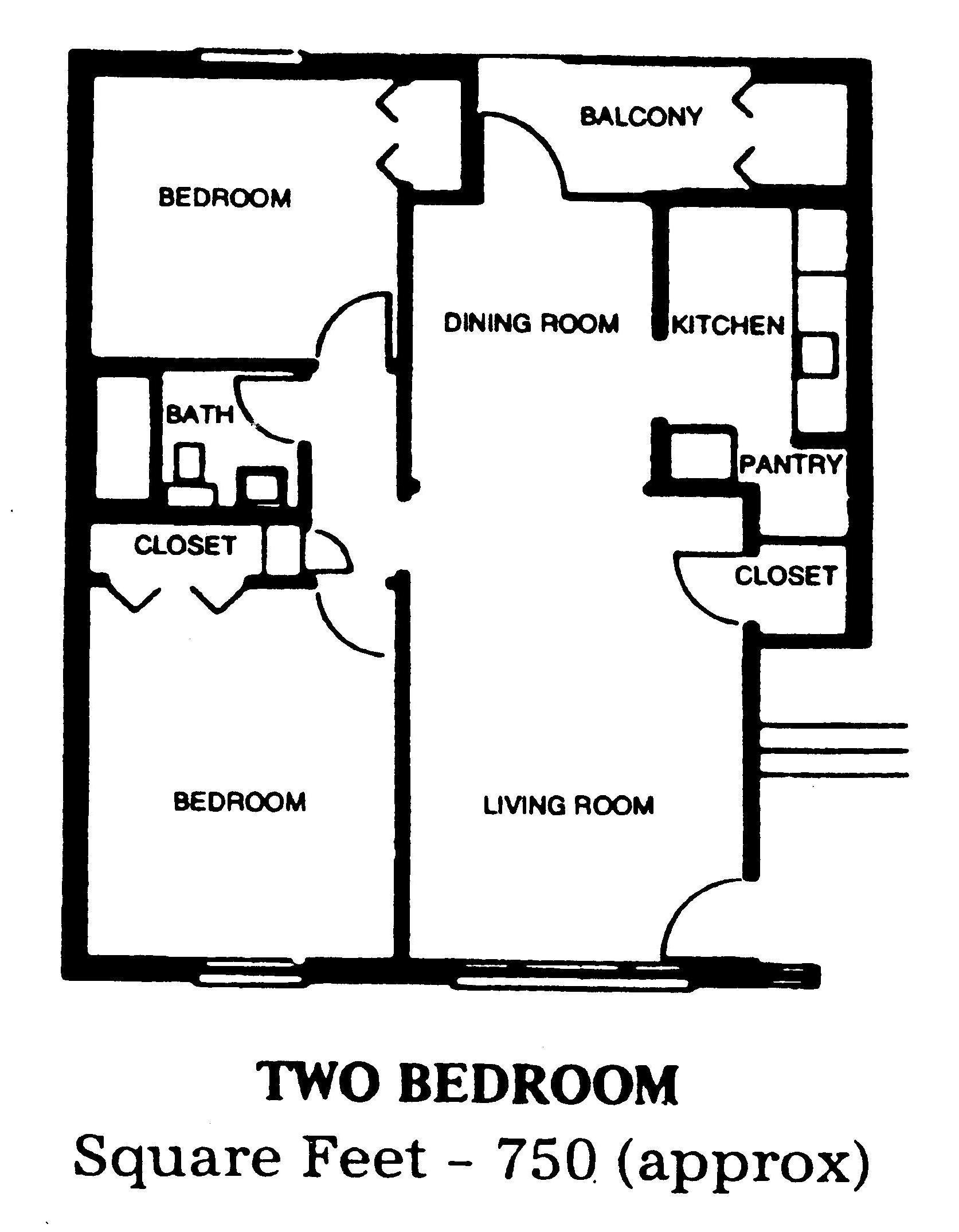 Floor Plans And Rates Apartment Floor Plans House Flooring Floor Plans