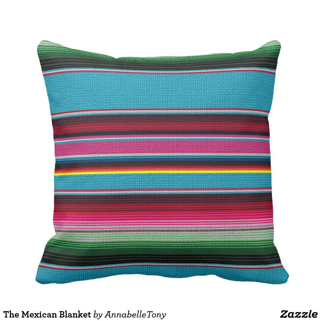 The Mexican Blanket Throw Cushion ******* FIND UNDER BOLD MULTI ...