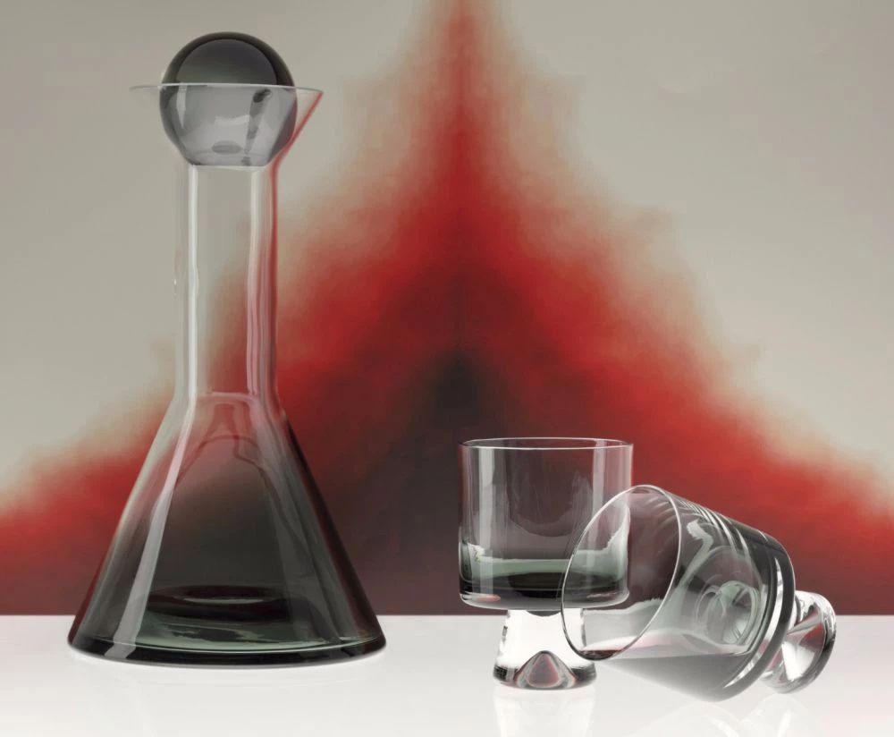 Tank Decanter Black Tom Dixon Wallpaperstore In 2020 Lowball Glasses Glassware Collection Glassware