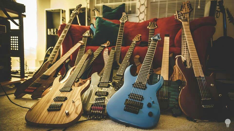 misha mansoor 39 s collection guitars pinterest. Black Bedroom Furniture Sets. Home Design Ideas