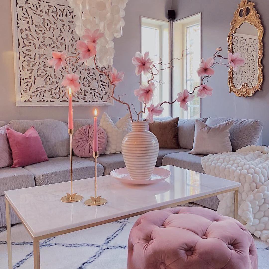 Pink Living Room Decor Mahlinsgodbitar Pink Living Room Decor Living Room Decor Cozy Pink Living Room