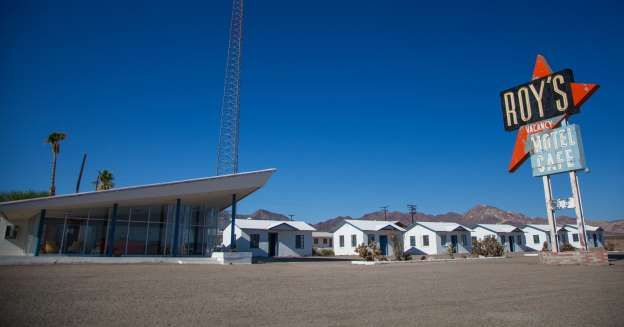 CA, Amboy, Roy's Motel and Cafe, on Route 66 - was once