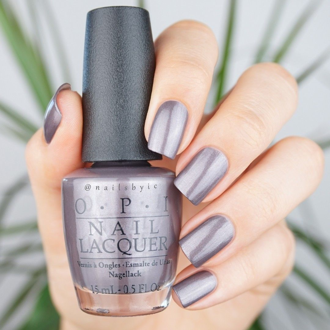 OPI Don\'t Take Yosemite For Granite. Swatches of the whole OPI ...