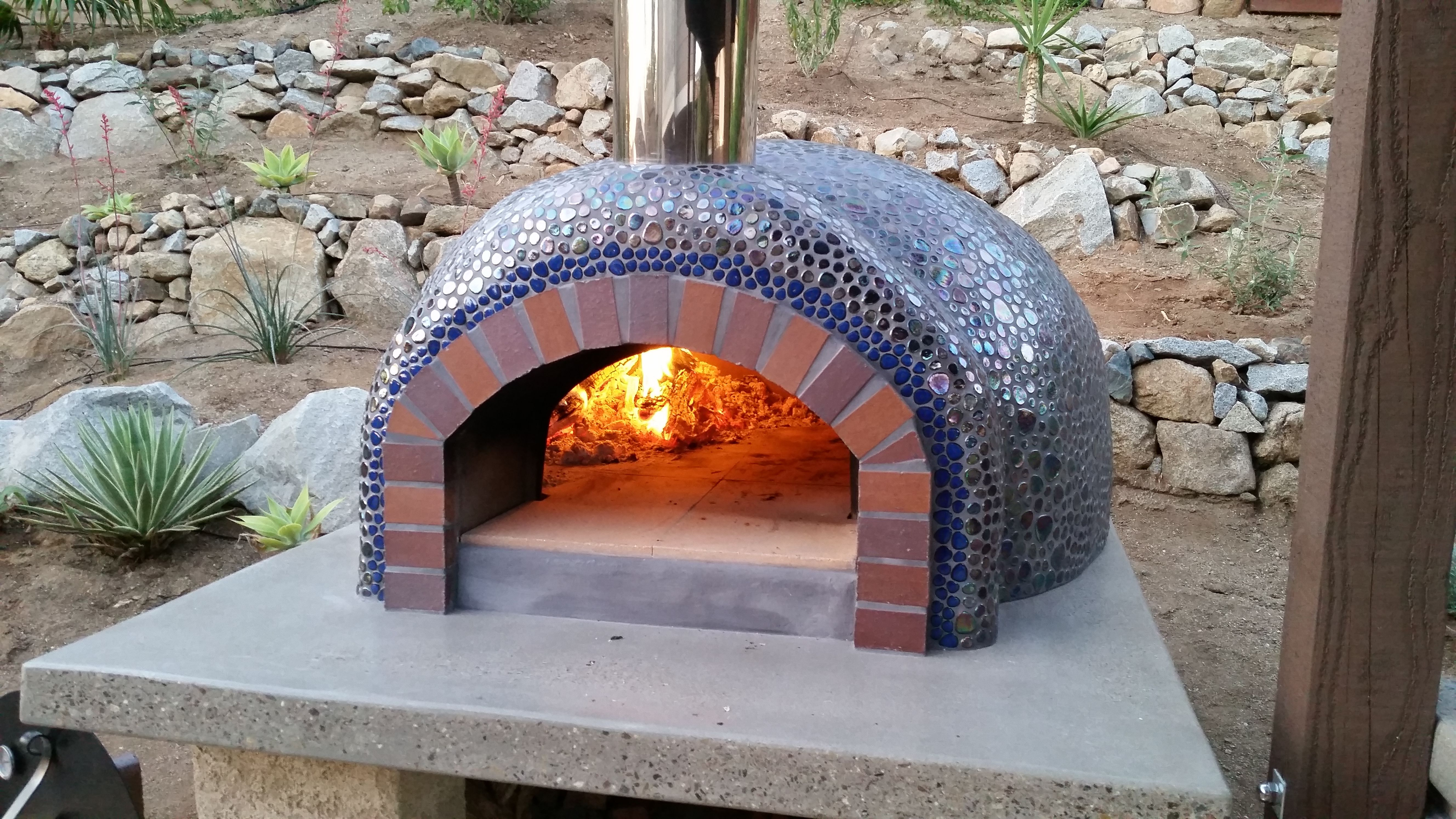 We built this Forno Bravo Casa2G100 oven: It's GREAT!