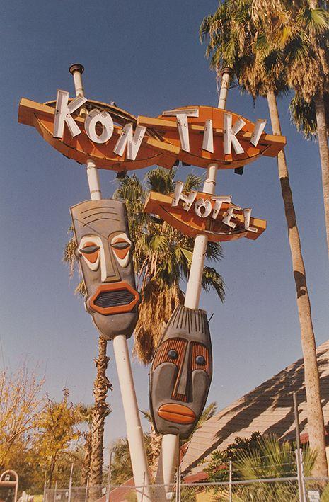 Kon Tiki Hotel Was Opened In Phoenix Az 1961 Closed 1993 And