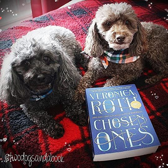 Click on the image to read my complete book review.  #poodles #poodlestagram #poodlesofinstagram #furbabies #dogsofinstagram #bookstagram #dogsandbooks #bookishlife #bookishlove #bookstagrammer #book #books #booklover #bookish #bookaholic #reading #readersofinstagram #instaread #ilovebooks #bookishcanadians #canadianbookstagram #bookreviewer #bookcommunity #bibliophile #bookphotography #chosenones #venorinaroth #bookreview #BooksConnectUs