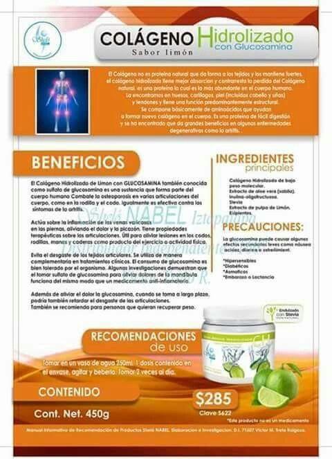 Beneficios del colageno hidrolizado shelo nabel shel pinterest beneficios del colageno - Alimentos con colageno hidrolizado ...