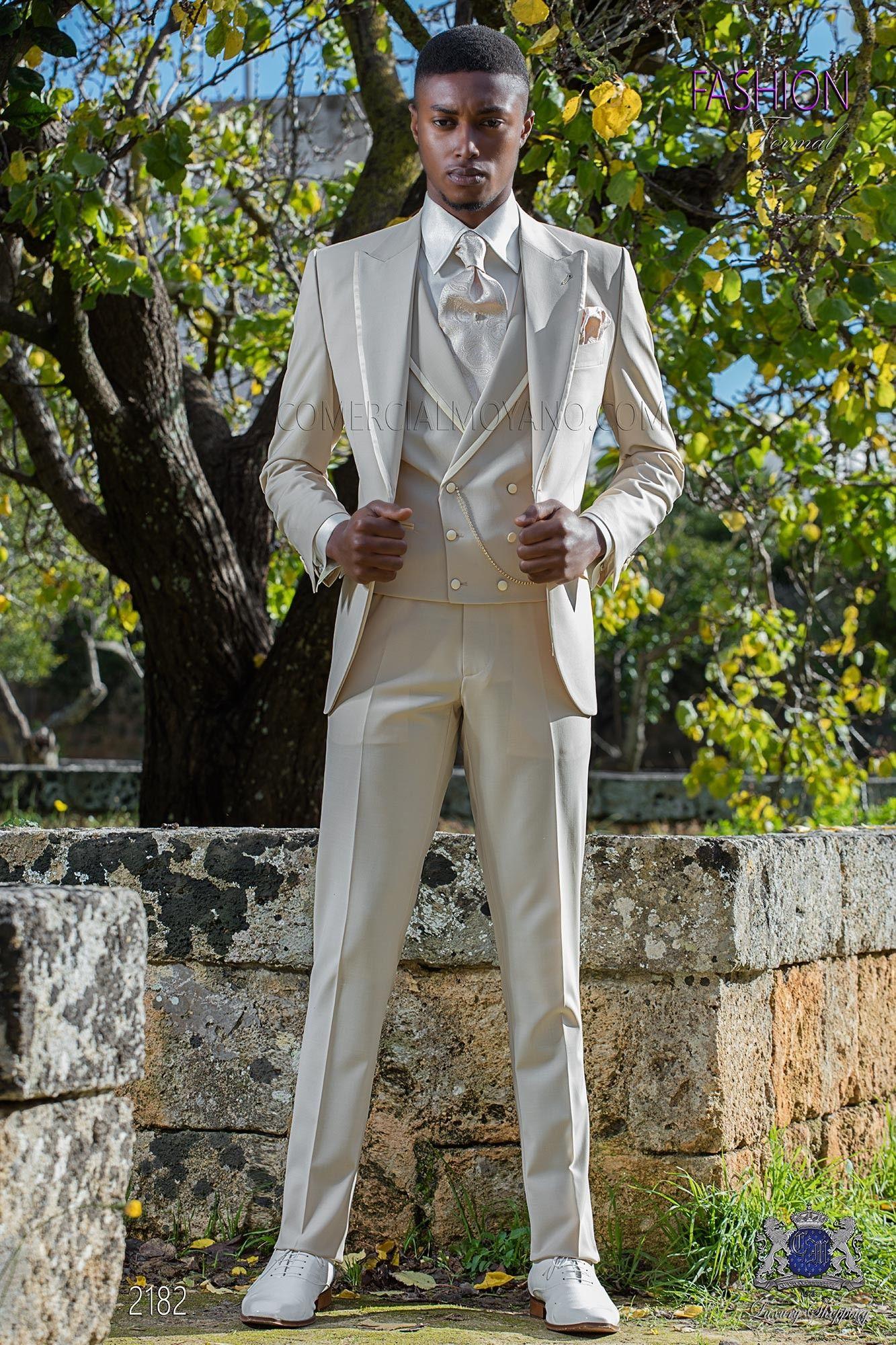 Beige Hochzeitsanzug Aus Wollmischung Dressed Man Pinterest