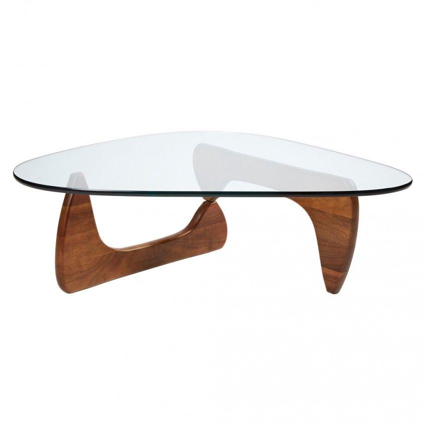 Noguchi Table Walnut Table Basse Noguchi Table Basse Table