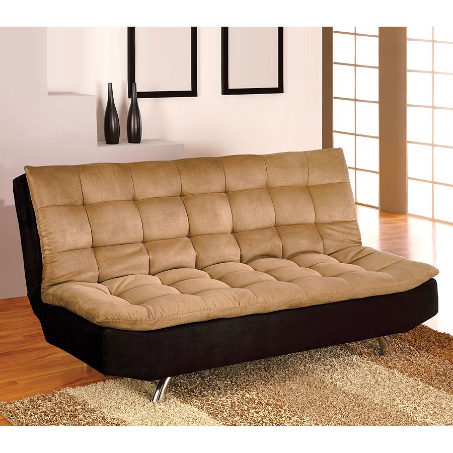 futon amazon dining dhp dp com black sofa linen brent sleeper kitchen