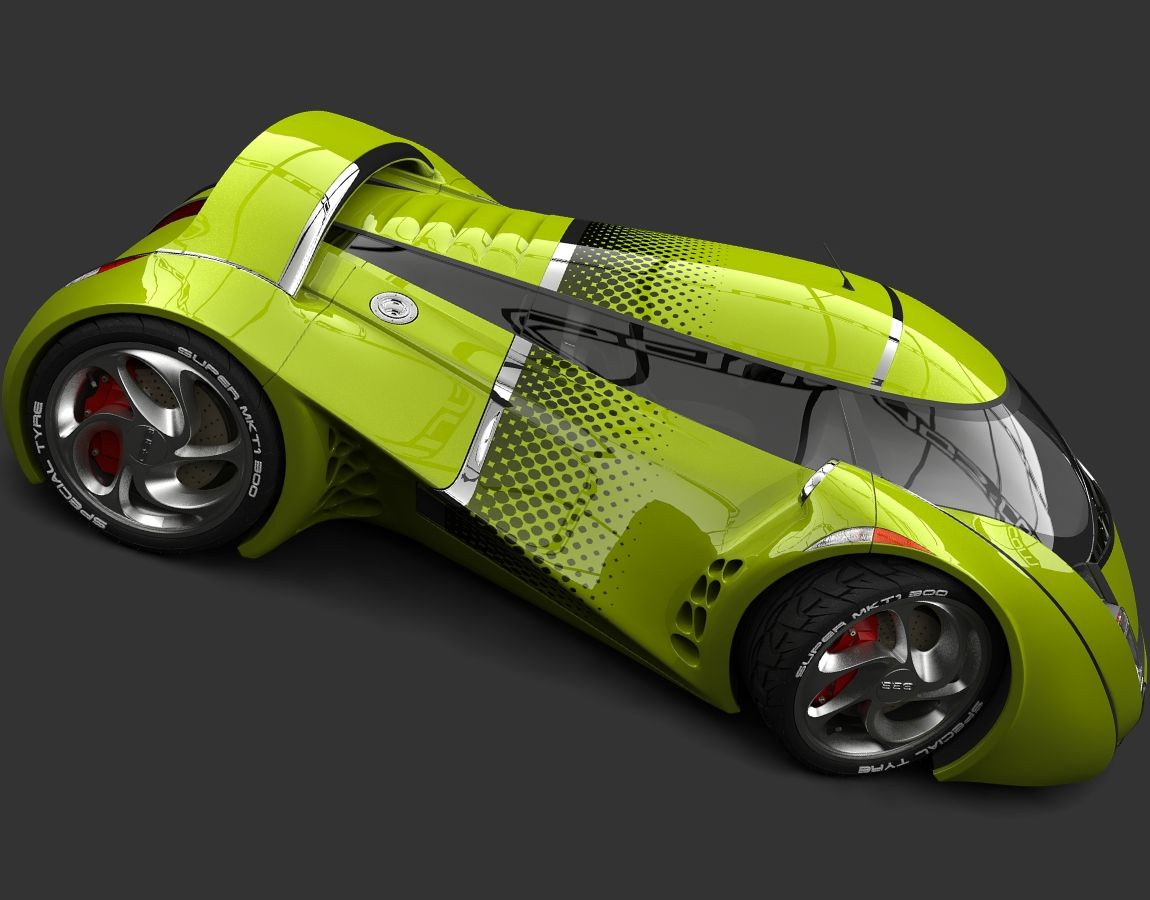 This is a evolution of my concept car UBO, from the first sketches I ...