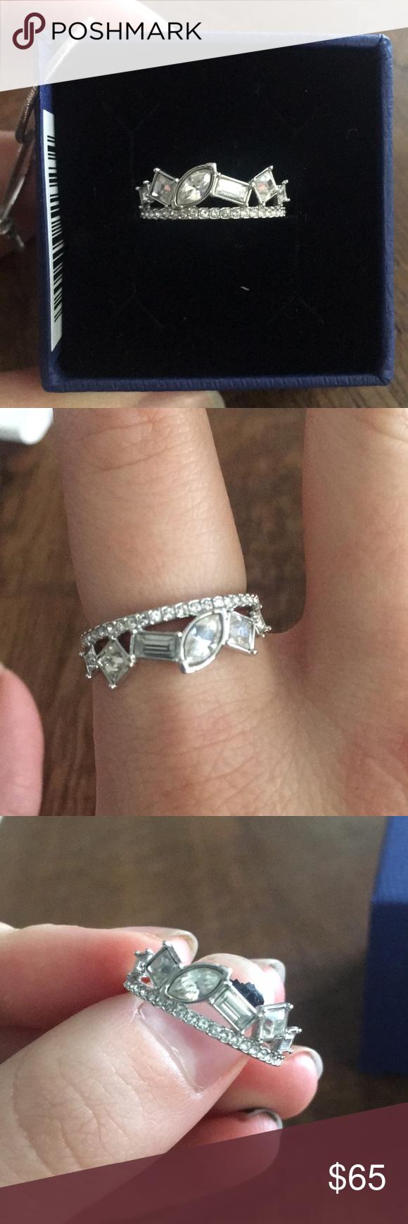 47c9bd682 Swarovski Crystal Henrietta Ring size 7 Swarovski Crystal Henrietta Ring  size 7. Beautiful and unique