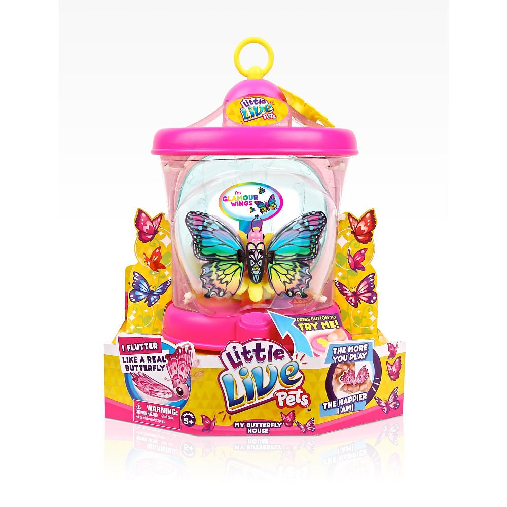 Little Live Pets Butterfly House Glamour Wing Moose Toys