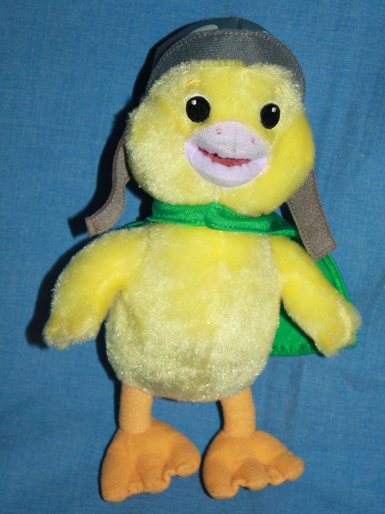 Wonder Pets Duck Ming Ming Stuffed Plush Fisher Price Wonderpets 11 Soft Toy Wonder Pets Pet Ducks Manhattan Toy