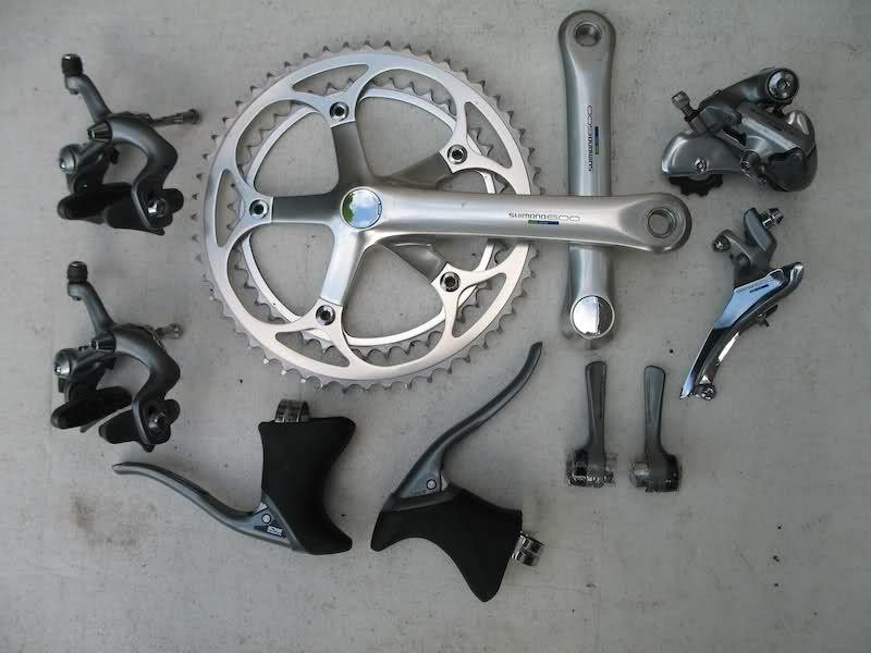21d60967fcf shimano 600 groupset - Google Search | Road Bike Build | Road bike ...