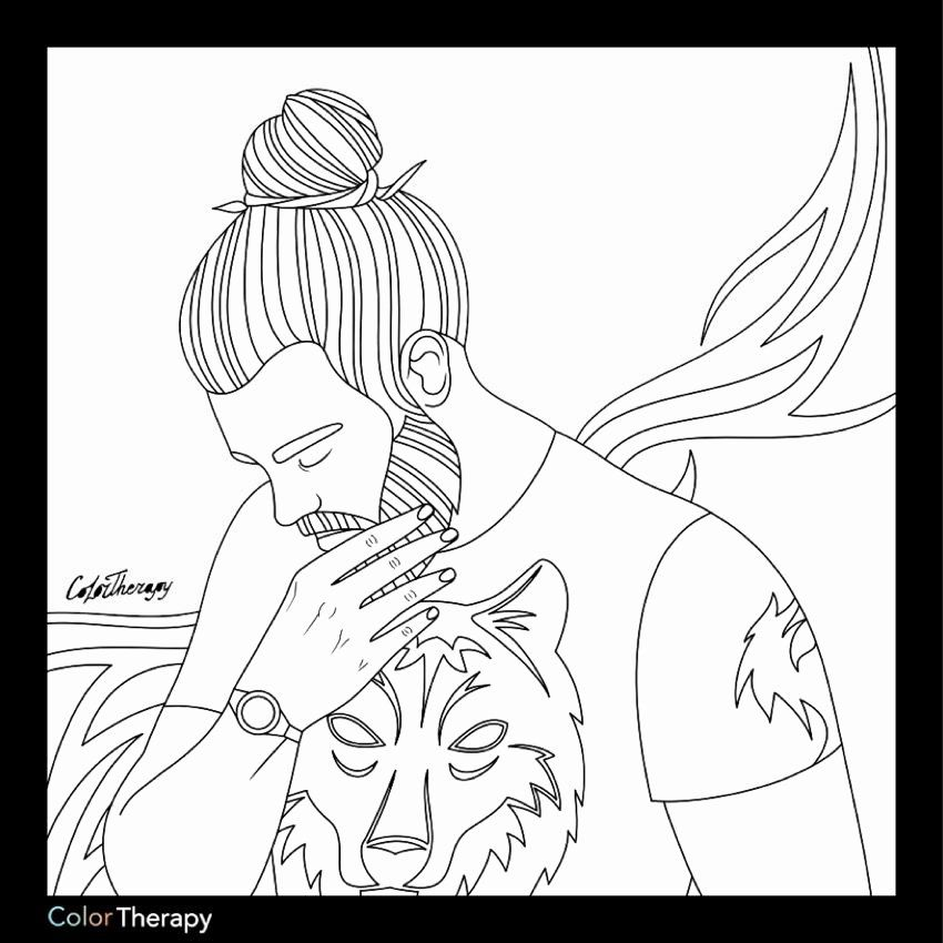 27 Adult Coloring Book People in 2020 | Mandala coloring ...