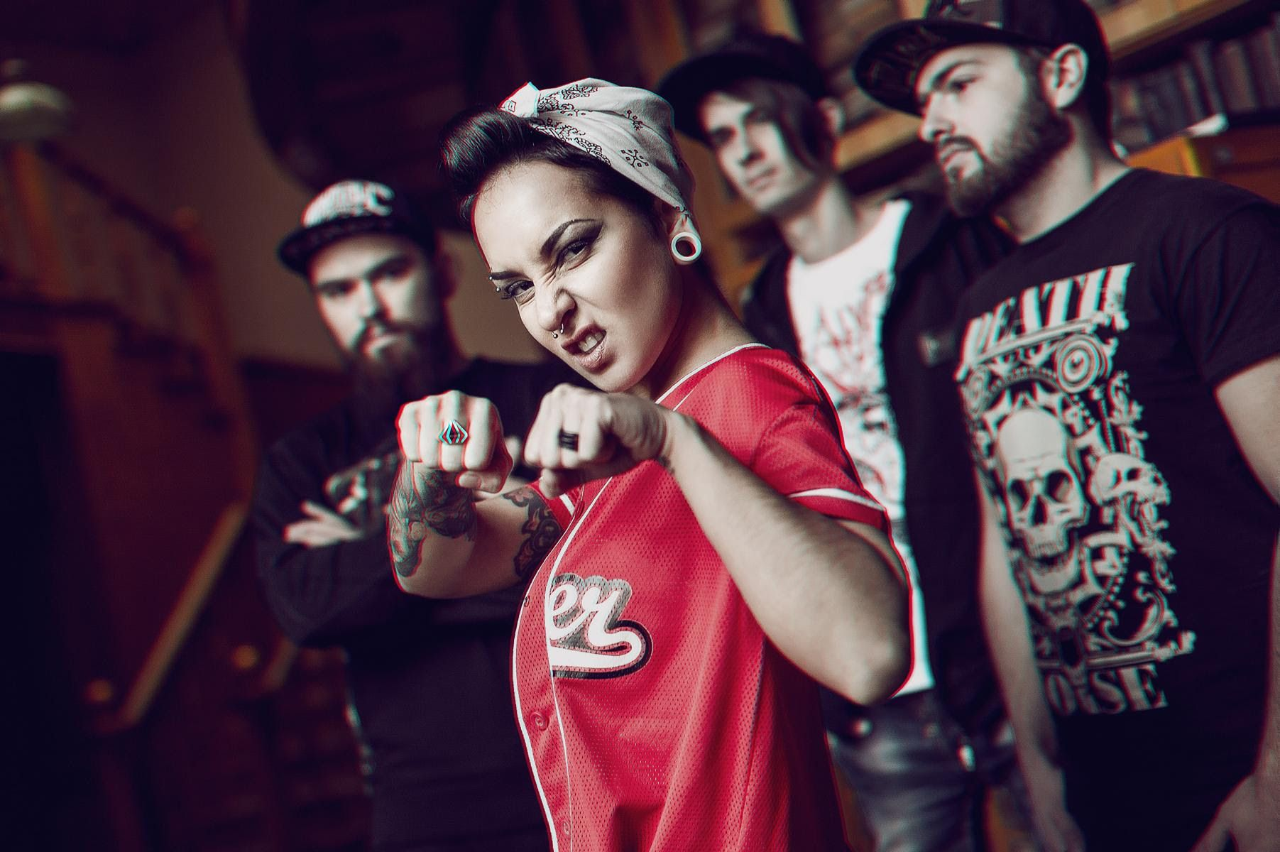 JINJER is the best-kept metal secret coming from the Ukraine, delivering a fresh mix of finest Groove Metal. Their upcoming album King Of Everything will be released July 29th 2016 via Napalm Records.