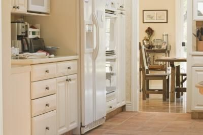 What Is The Difference Between Bisque Biscuit Color In Major Appliances Painted Kitchen CabinetsMaple