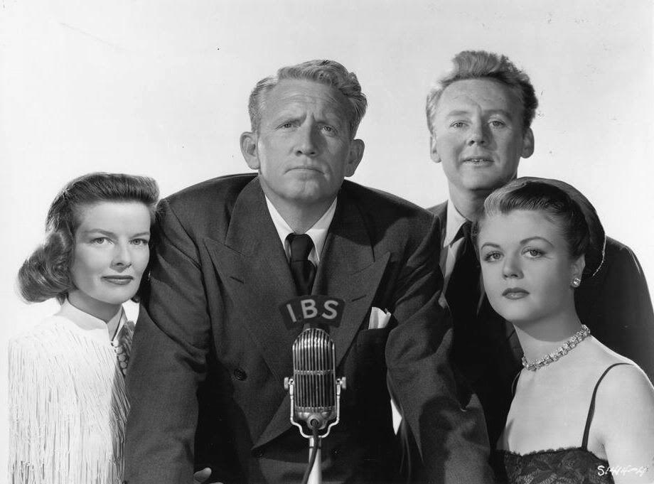 Spencer Tracy, Katharine Hepburn, Van Johnson and Angela Lansbury