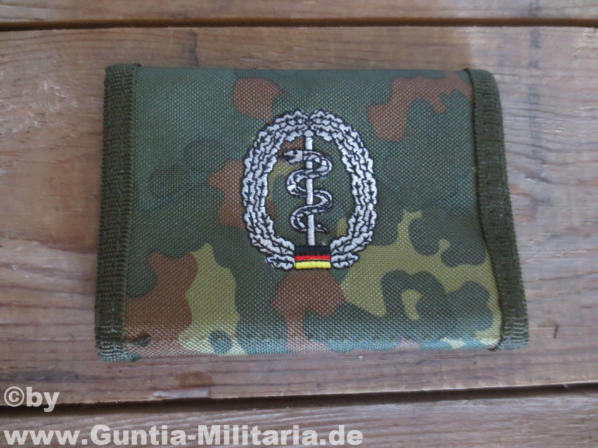 Sanitäter logo bundeswehr  BW Geldbörse, flecktarn, Sanitäter | Bundeswehr Geldbörsen in ...