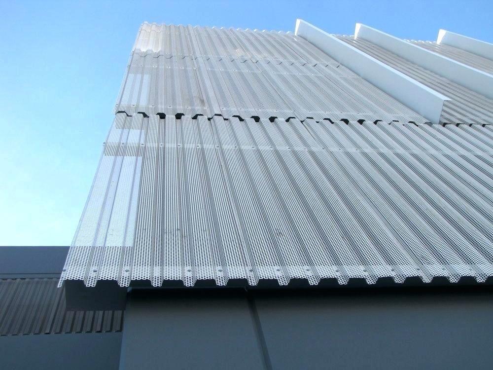 Perforated Corrugated Metal Panels Amp Sheet Wall Me Metal Facade Metal Panels Facade Engineering