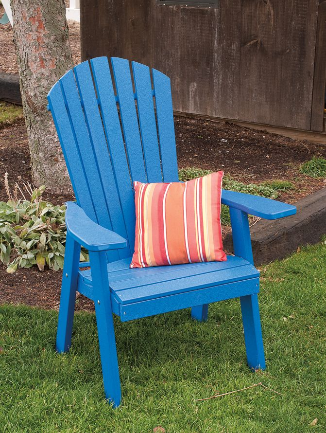 Poly Upright Adirondack Chair Polywood adirondack chairs