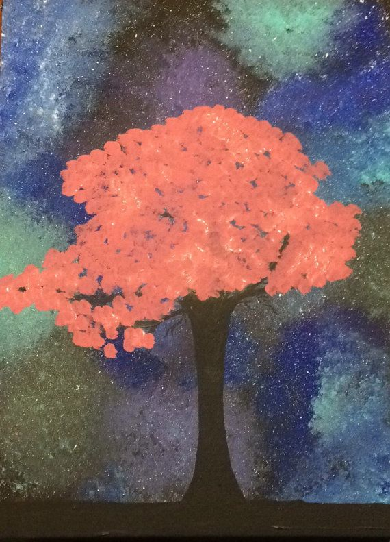 Hey, I found this really awesome Etsy listing at https://www.etsy.com/listing/459484506/sakura-tree-with-galaxy-background