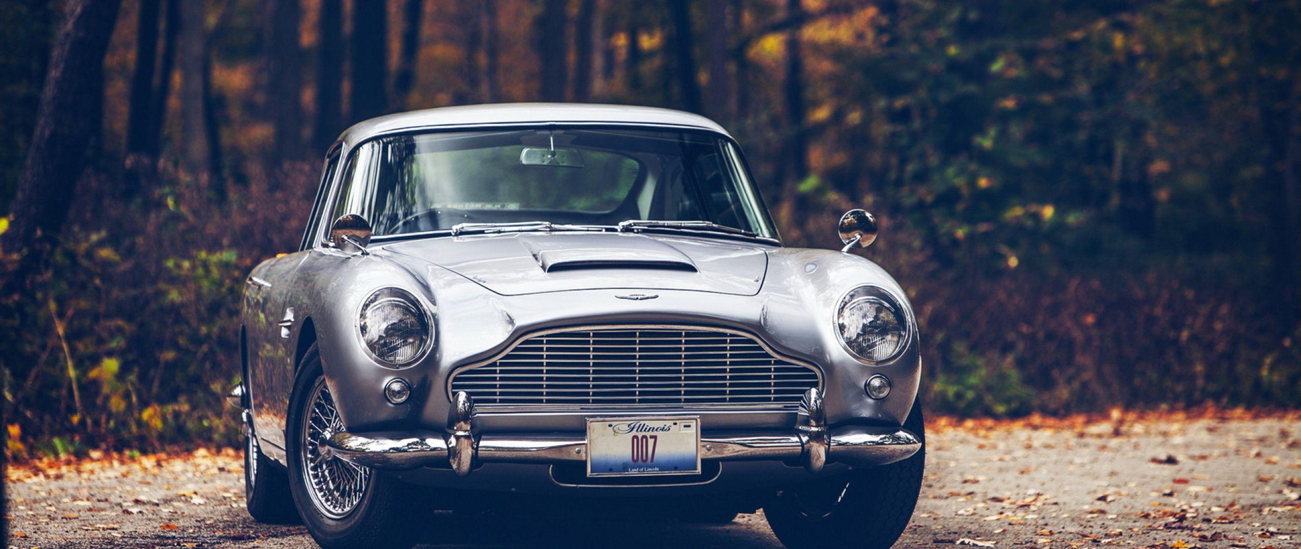 Download Wallpaper 2560x1080 Car, Db5, Aston martin 2560x1080 21:9 .