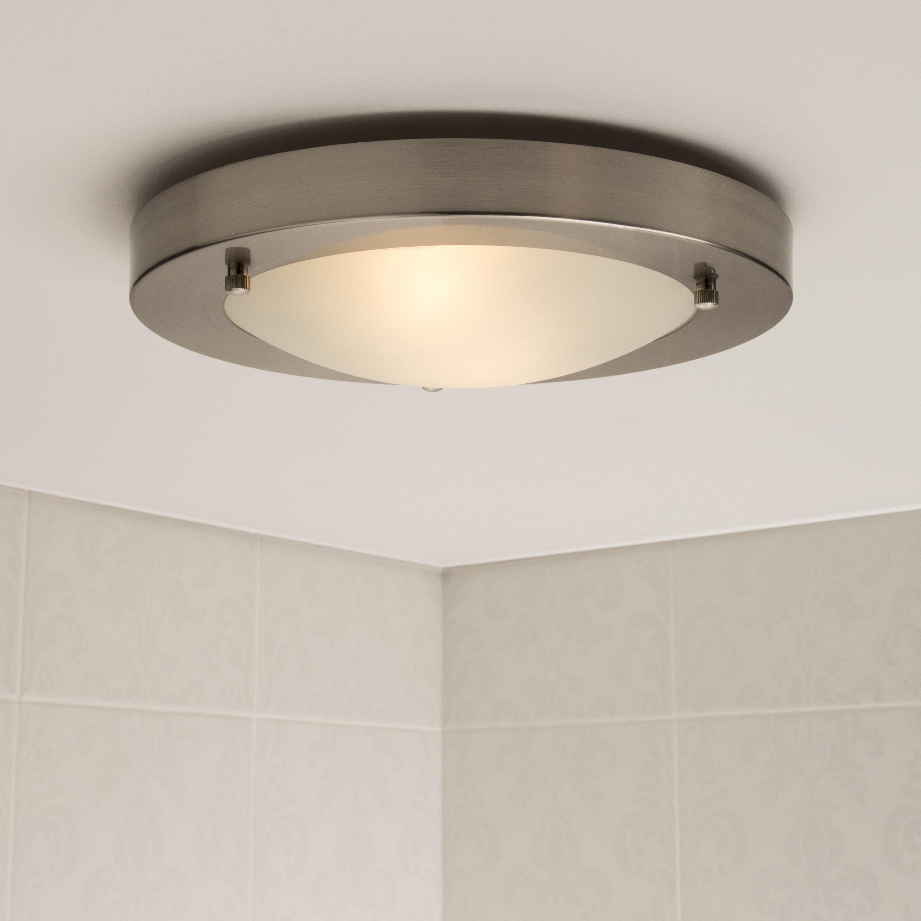 Forum Canis Large Flush Fitting Bathroom Light Bathroom Ceiling