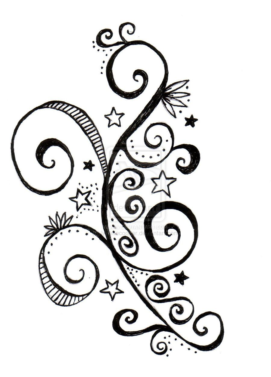 Swirling Tattoo Designs : swirling, tattoo, designs, Swirls, Tattoo, Design, Lynettecooper.deviantart.com, Swirl, Tattoo,, Designs,, Quilling, Designs