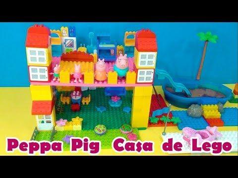 Massinha Play Doh fazendo casinha do Papai Noel no Natal para Familia Peppa  Pig!