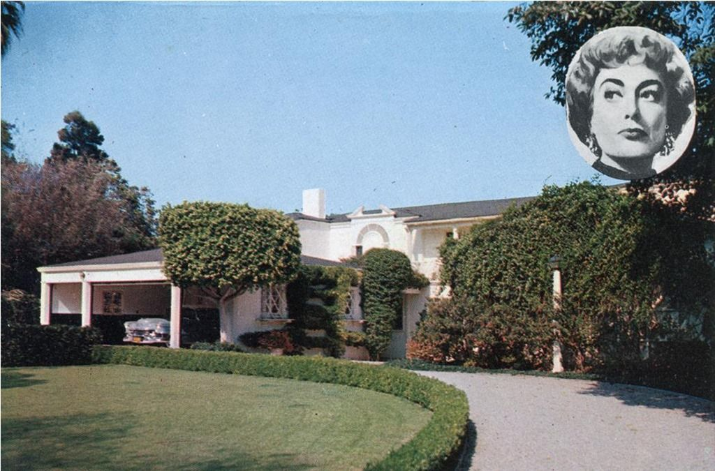 Celebrities Homes Joan Crawford S Brentwood Home Los Angeles Ca Celebrity Houses Hollywood Homes Brentwood California