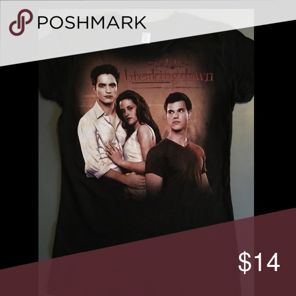 Twilight Saga Breaking Dawn T-Shirt New Without Tags Tops Tees - Short Sleeve