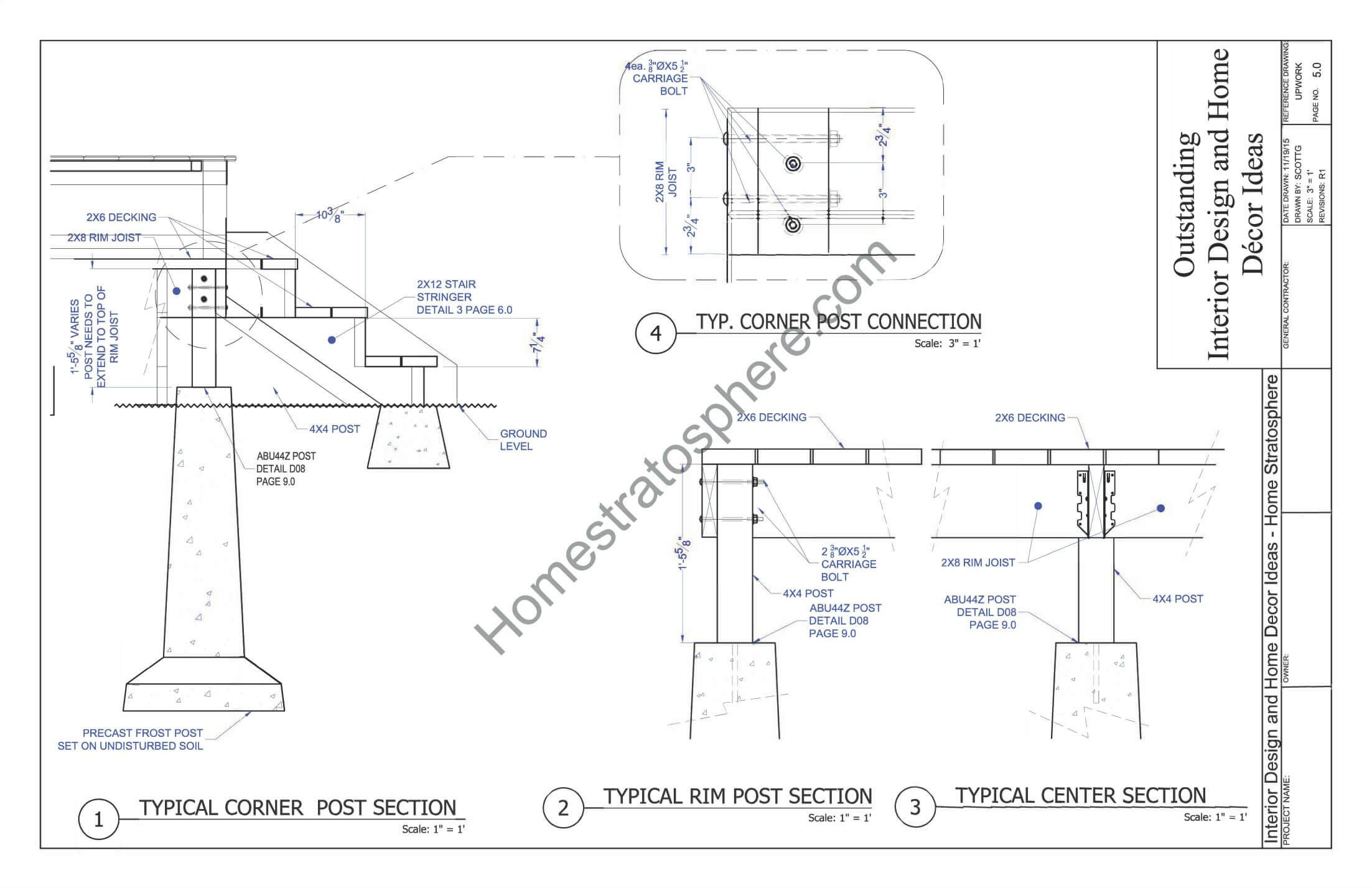Deck Plan With Built In Benches For Seating And Storage In 2021 Deck Plans Free Deck Plans Deck Layout