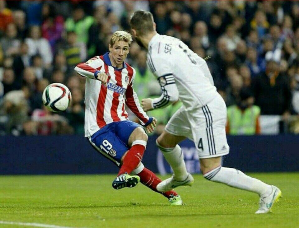 Fernando Torres and Sergio Ramos Photos Photos - Club