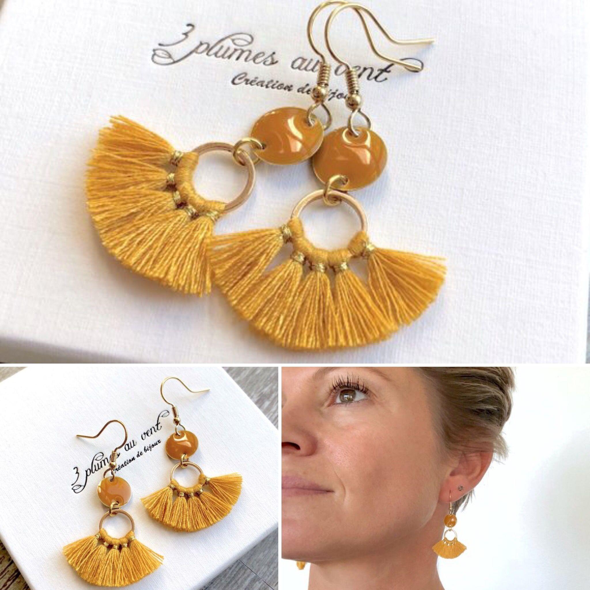 Femmes charme Boho Bohème Oreille Crochet Boucles D/'Oreilles Longue Tassel Fringe Dangle Bijoux
