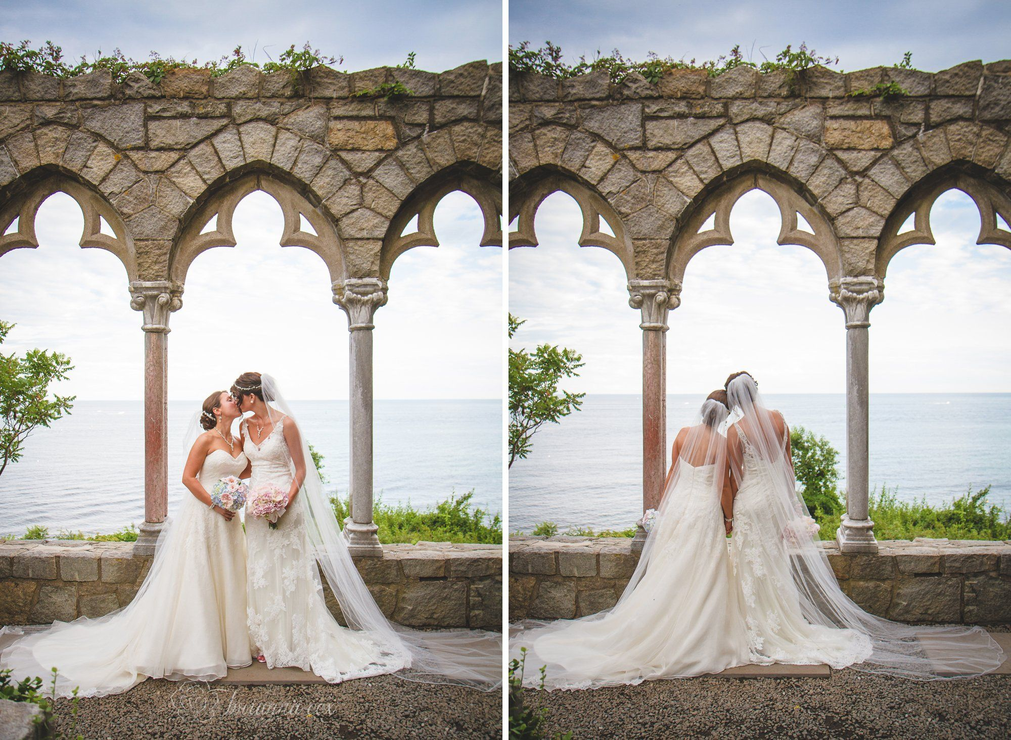 Kristin Lindsay S Enchanting Hammond Castle Wedding New England Photographer