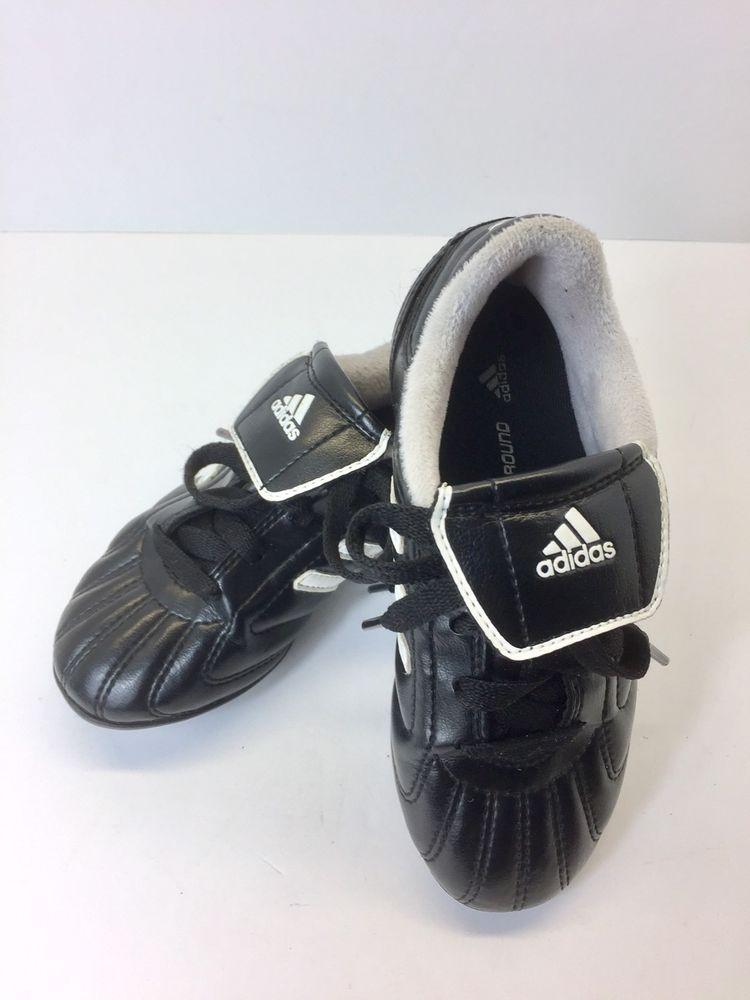 adidas bambini trx terra nera scarpa da calcio scarpe taglia 11k nero